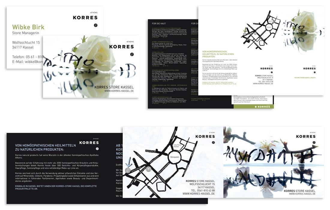 Korres Print-Produkte