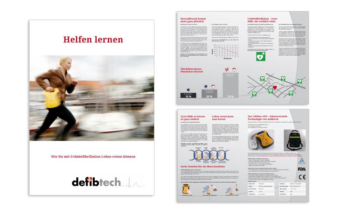 defibtech Folder