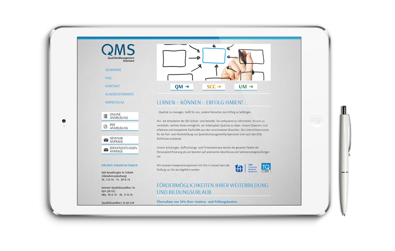 QM Schule Webseite