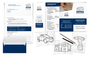 Hausmeisterservice Detka Corporate Design