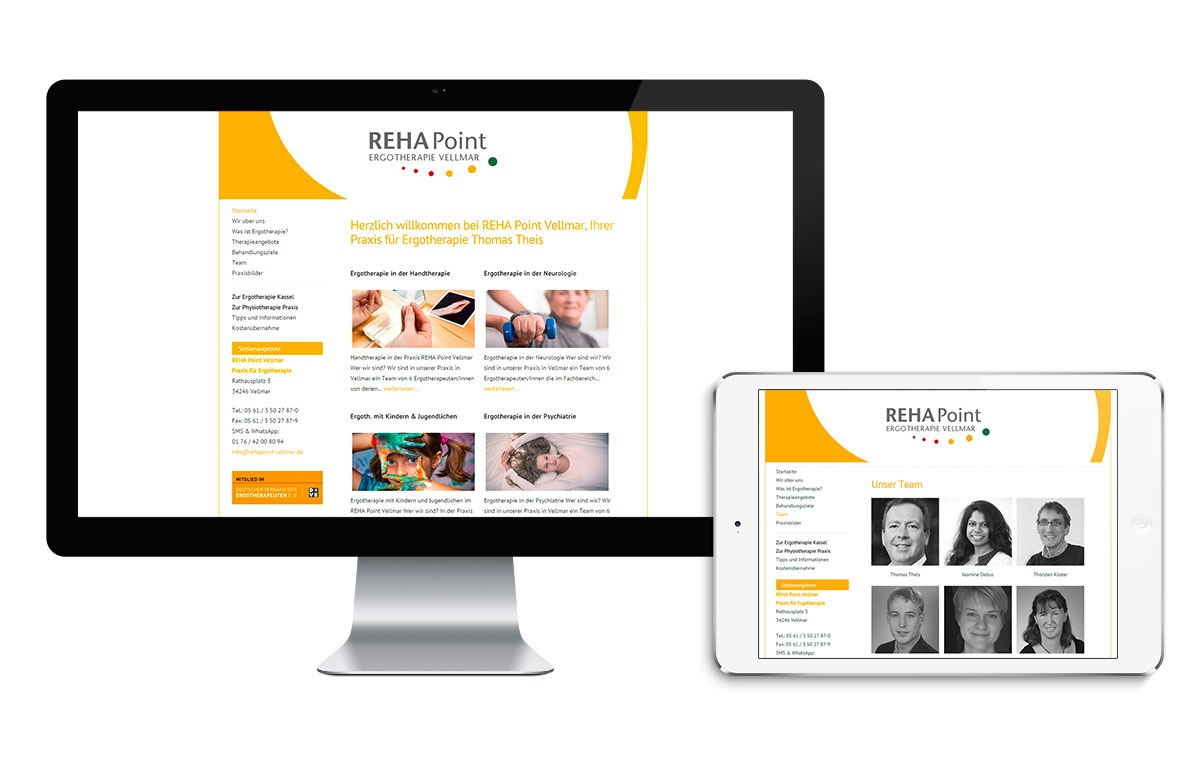 REHAPoint Webseite