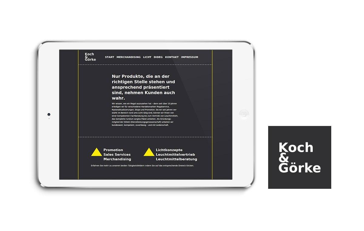 Koch & Görke Webseite