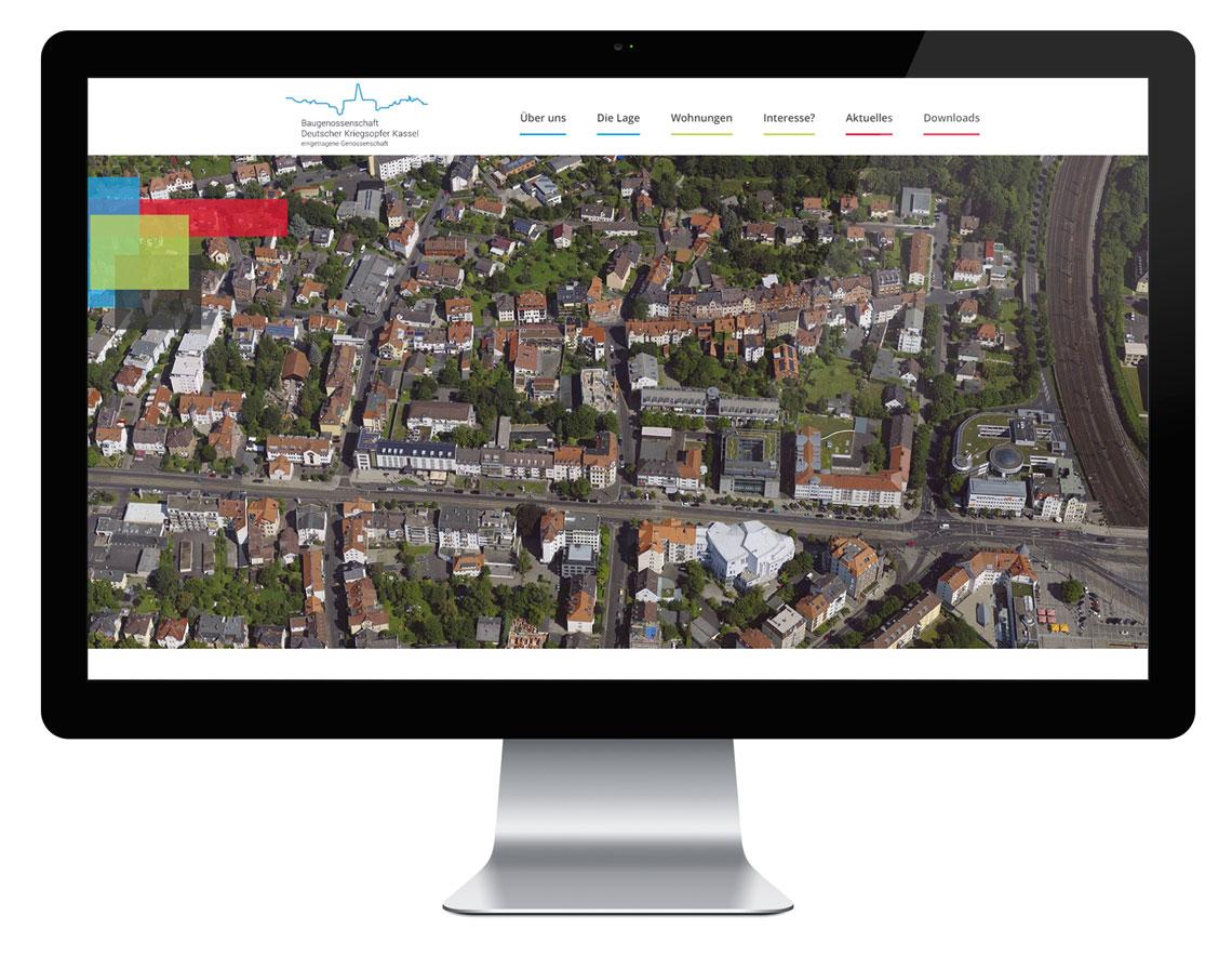 Baugenossenschaft Deutscher Kriegsopfer - Webseite