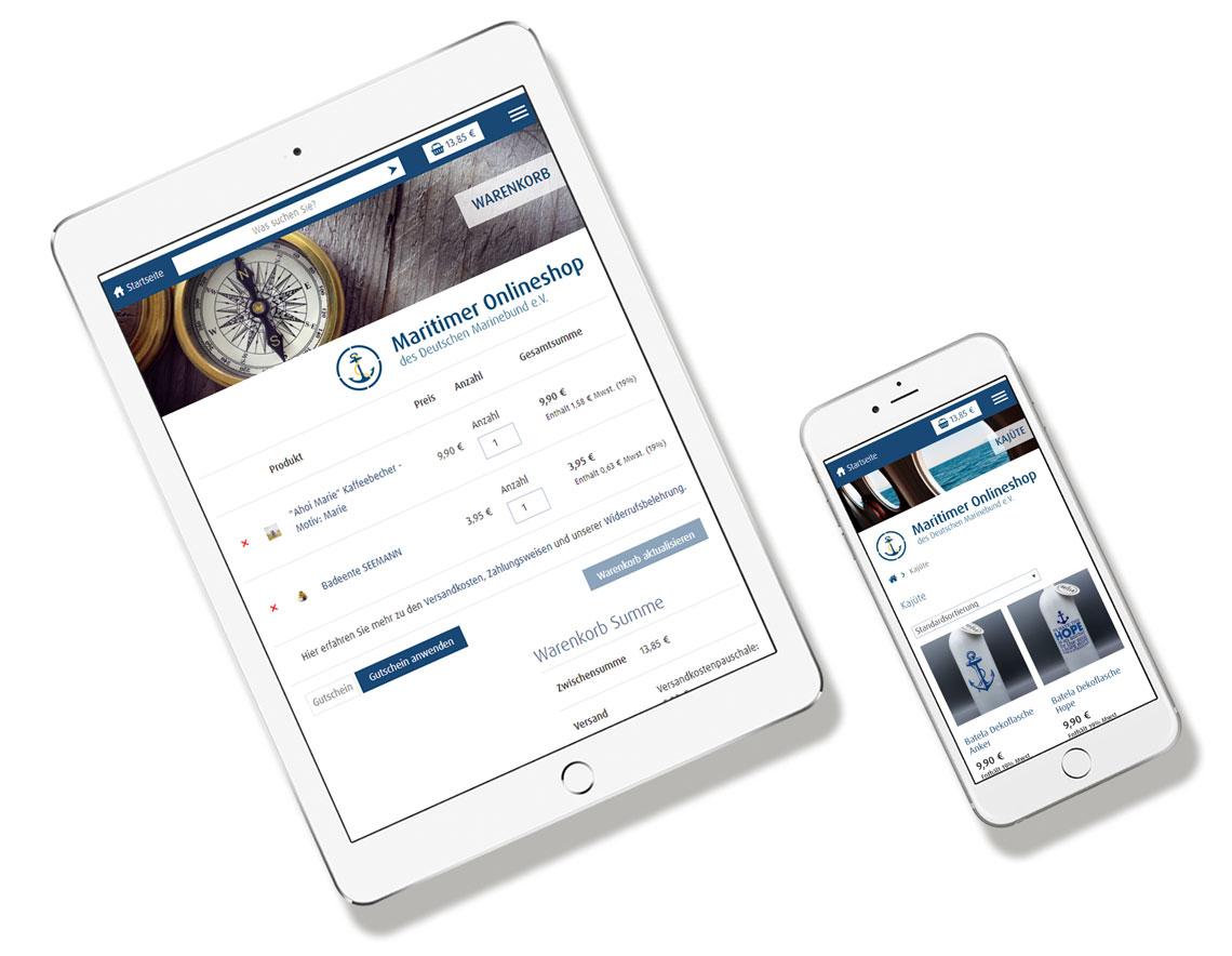 Maritimer Onlineshop