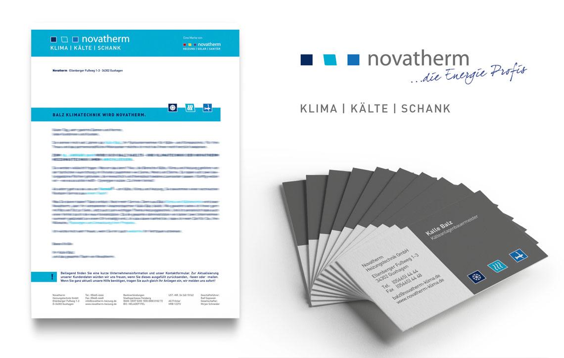 Novatherm Klima Print-Produkte